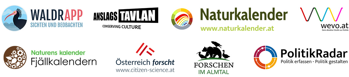 SPOTTERON Citizen Science Logo Designs for Citizen Science Projects and Platforms