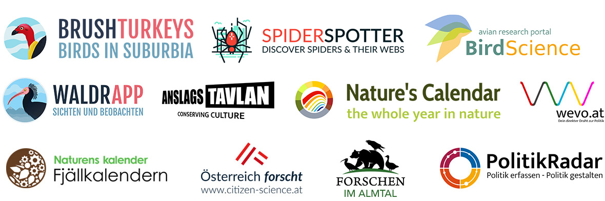 Citizen Science App Logos by SPOTTERON