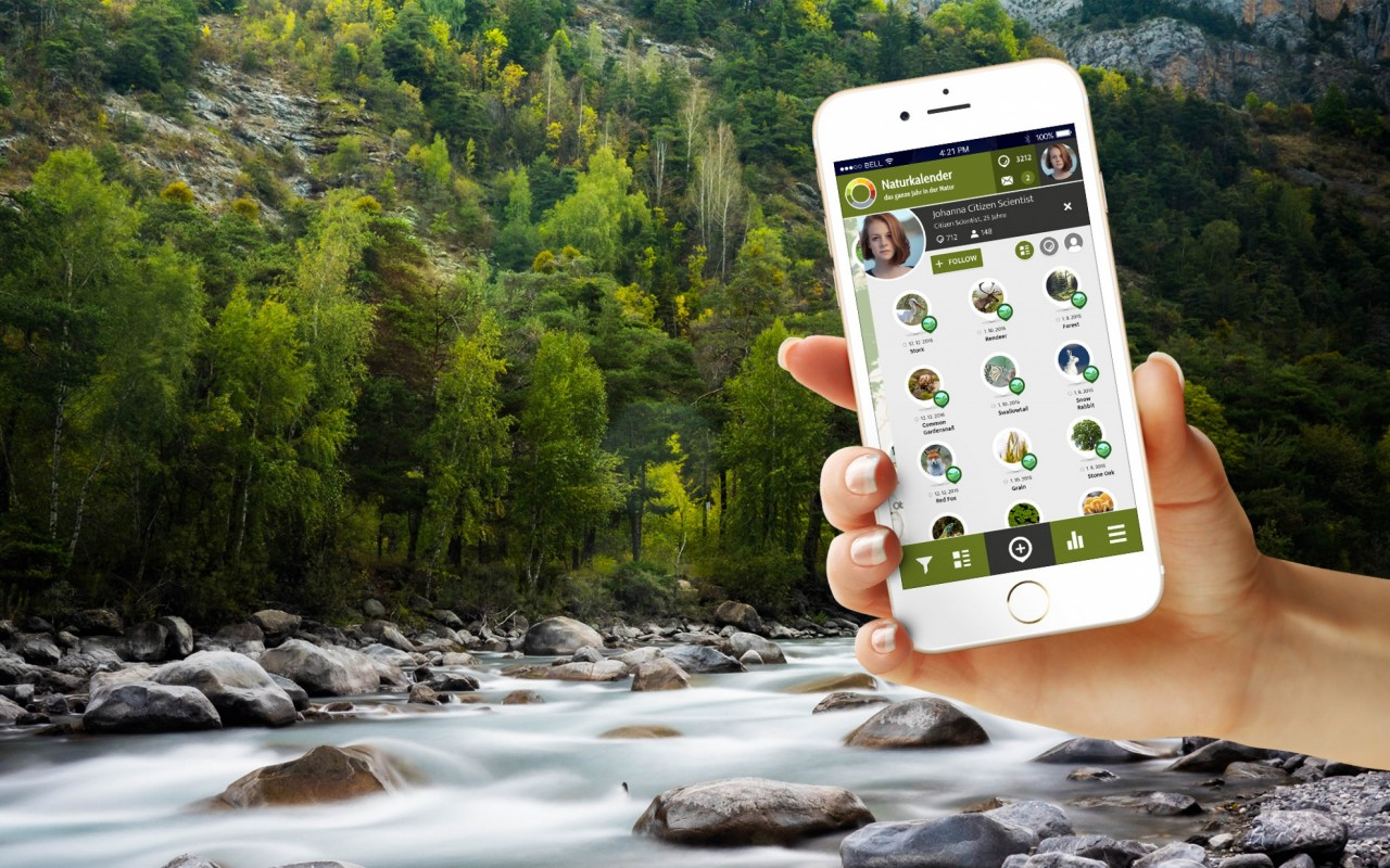 Introducing the Citizen Science Apps: Nature's Calender ZAMG