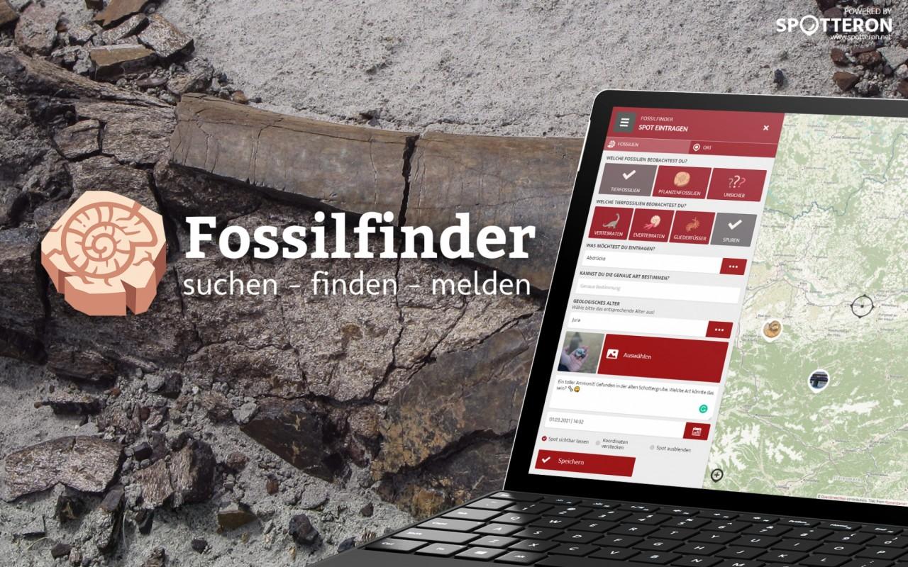 Fossilfinder - the new paleontology app on the SPOTTERON Citizen Science Platform