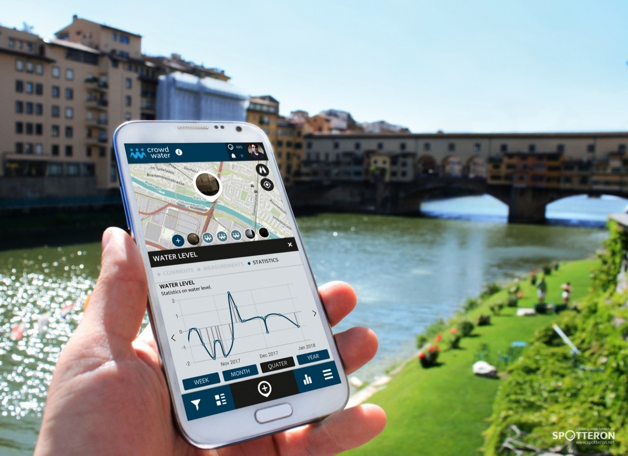 Introducing the Citizen Science Apps: Crowdwater