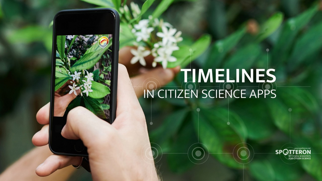 Spot Updates Feature: Collect not only single occurrence data records, create timelines in your Citizen Science App!