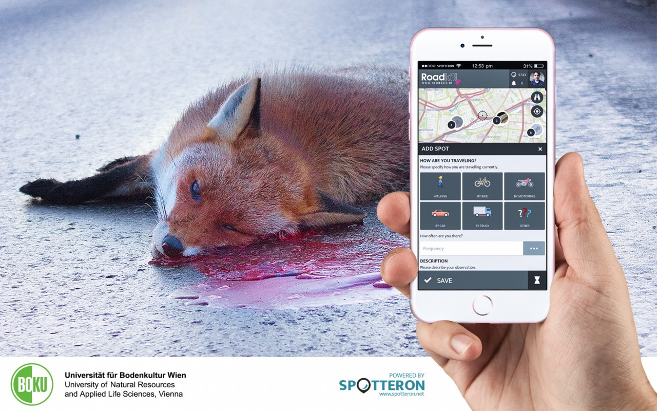 Introducing the Citizen Science Apps: RoadKill