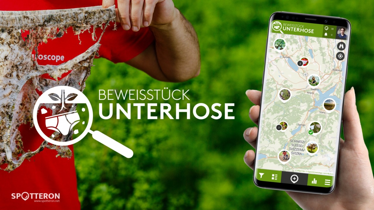 Slip of Evidence - a new Citizen Science App on the SPOTTERON Platform to explore soil health