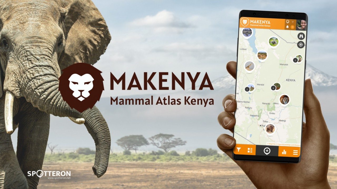 MAKENYA Mammal Atlas Kenya - A new Citizen Science App on the SPOTTERON platform