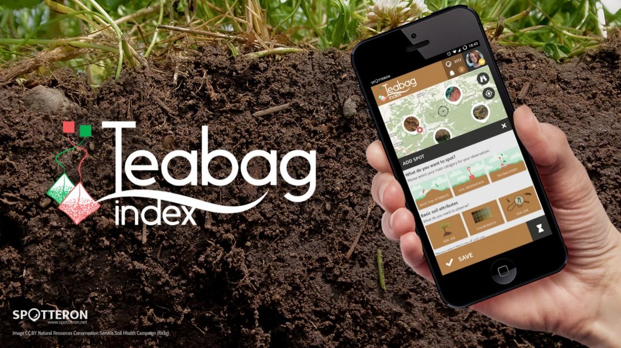 Citizen Science App Release: Tea Bag Index on SPOTTERON
