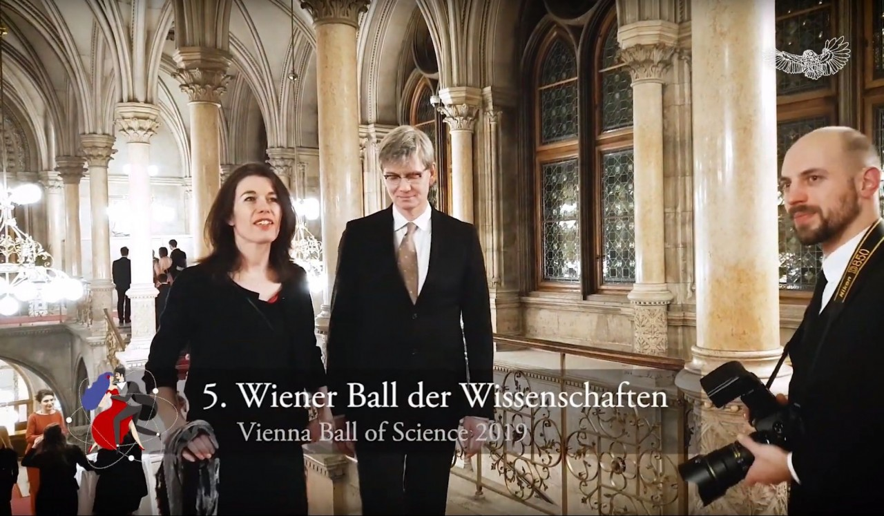 This was the Vienna Ball of Sciences 2019 - with video!