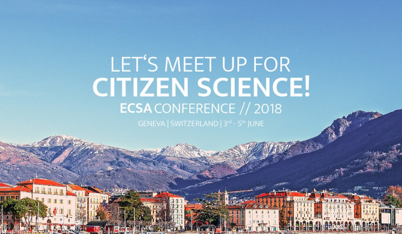Let's meet up for Citizen Science! SPOTTERON at the ECSA Conference 2018 in Geneva, Switzerland