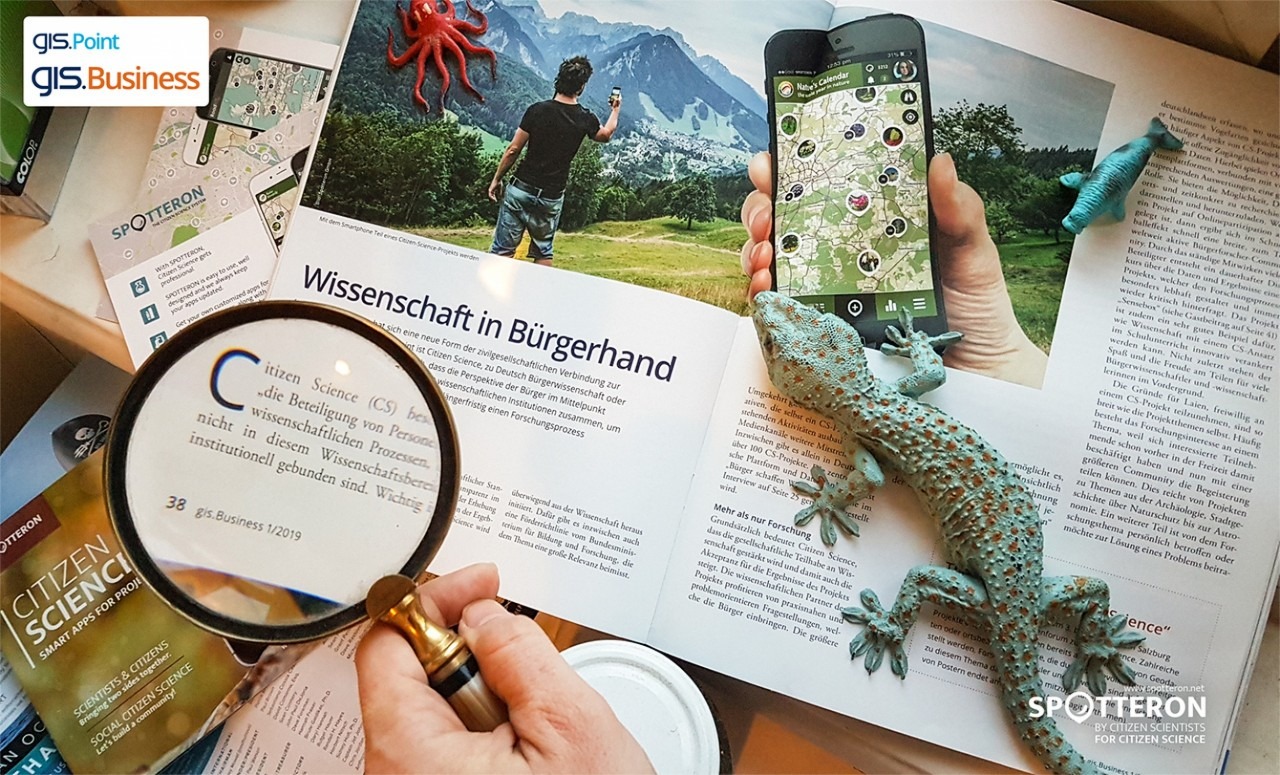 Citizen Science in the gis.Business Magazine: Knowledge in the Hands of Citizens