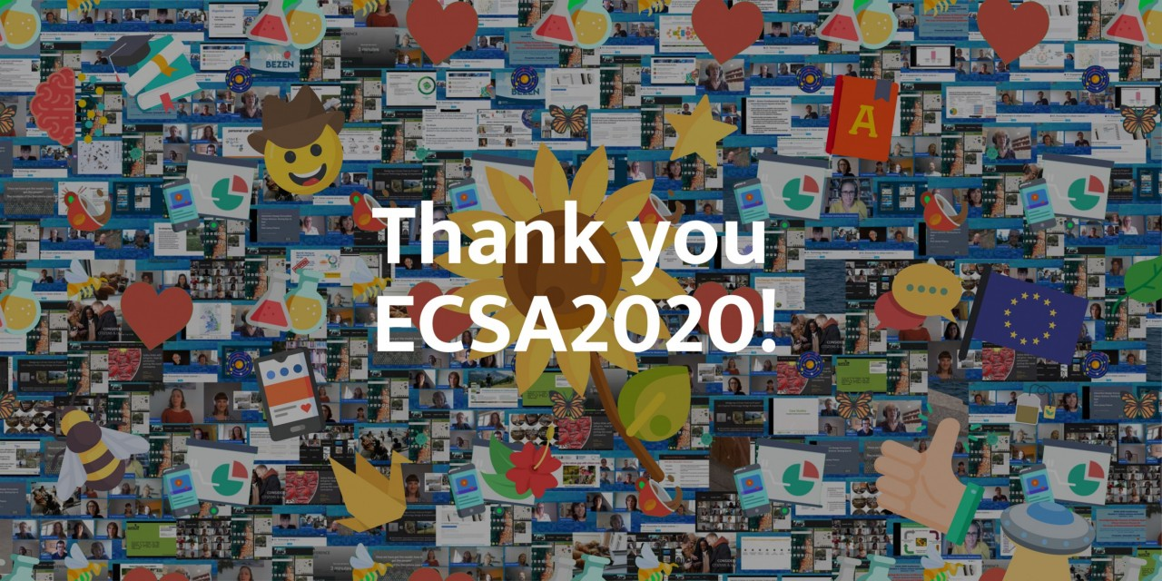 Our ECSA 2020 Citizen Science Conference Experience - going virtual!