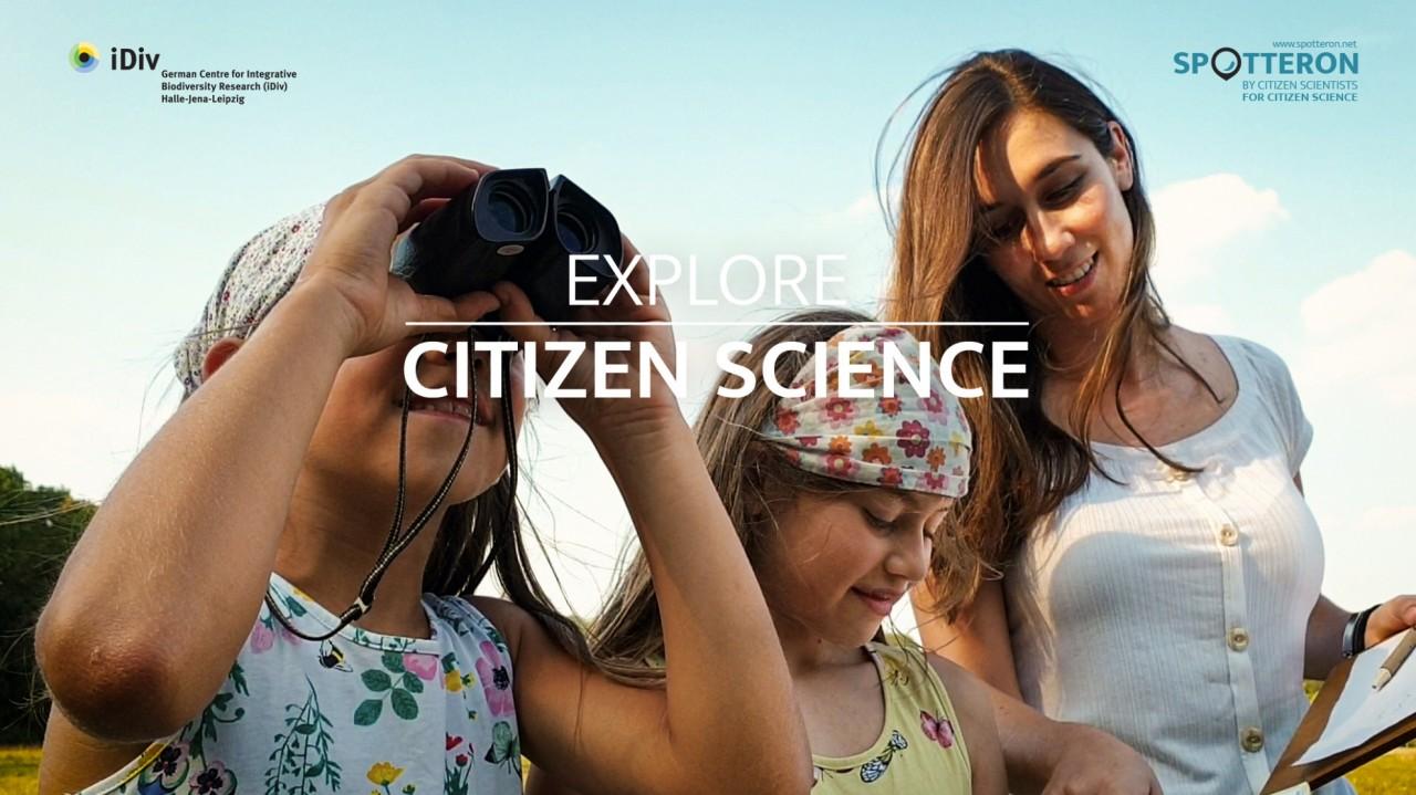 ENTDECKE CITIZEN SCIENCE - ein gemeinschaftliche erstellter Videoclip zur freien Verwendung