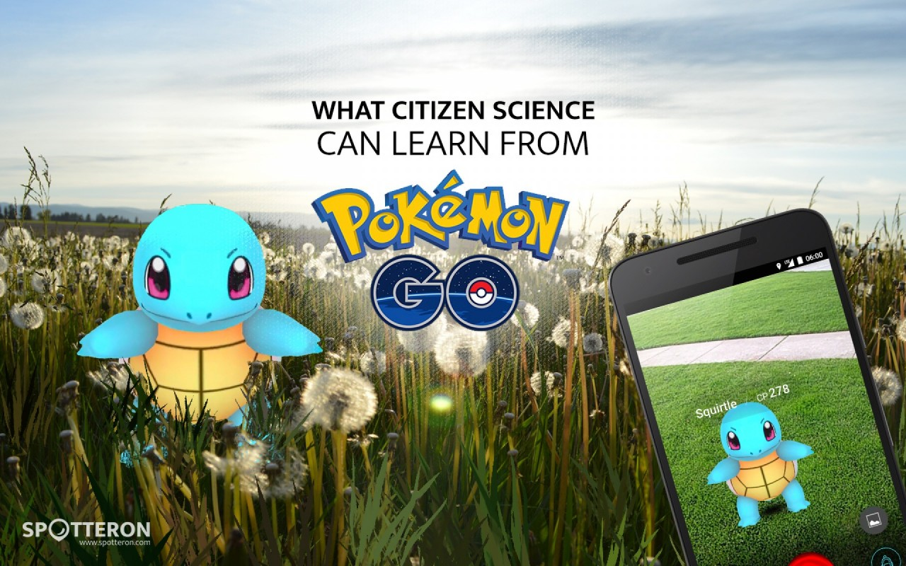 What Citizen Science can learn from Pokemon Go