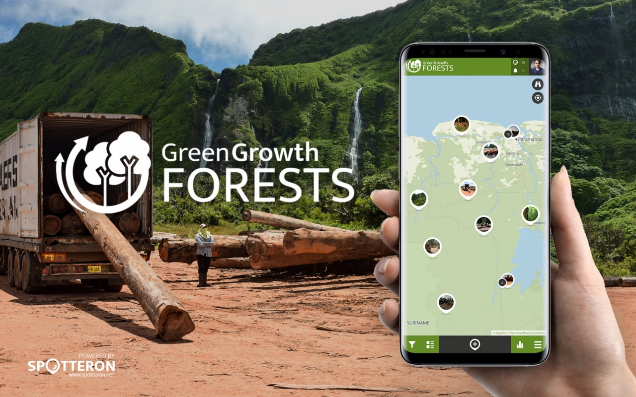 Green Growth Forests - A new Citizen Science App on the SPOTTERON platform