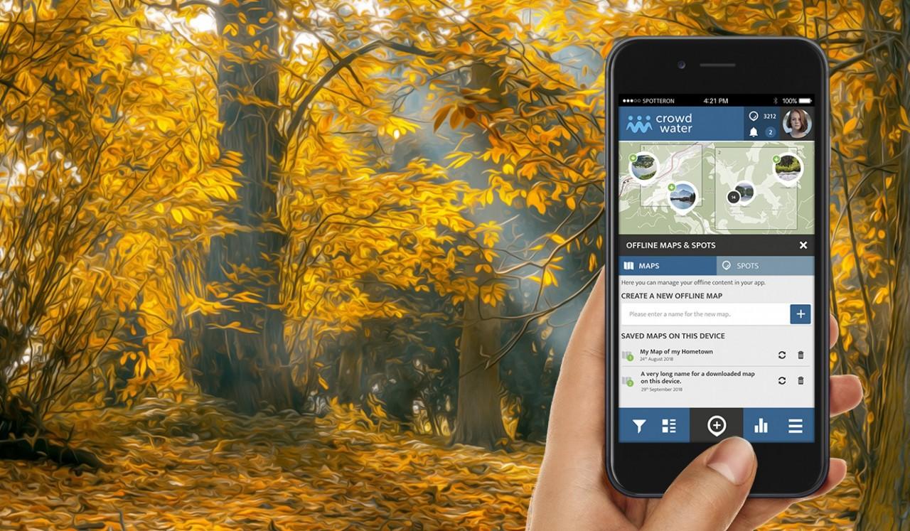 Preview: Offline Maps & Spots for Citizen Science Apps