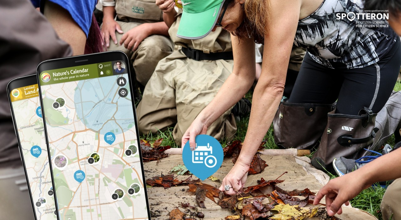 Upcoming app feature: Citizen Science Events