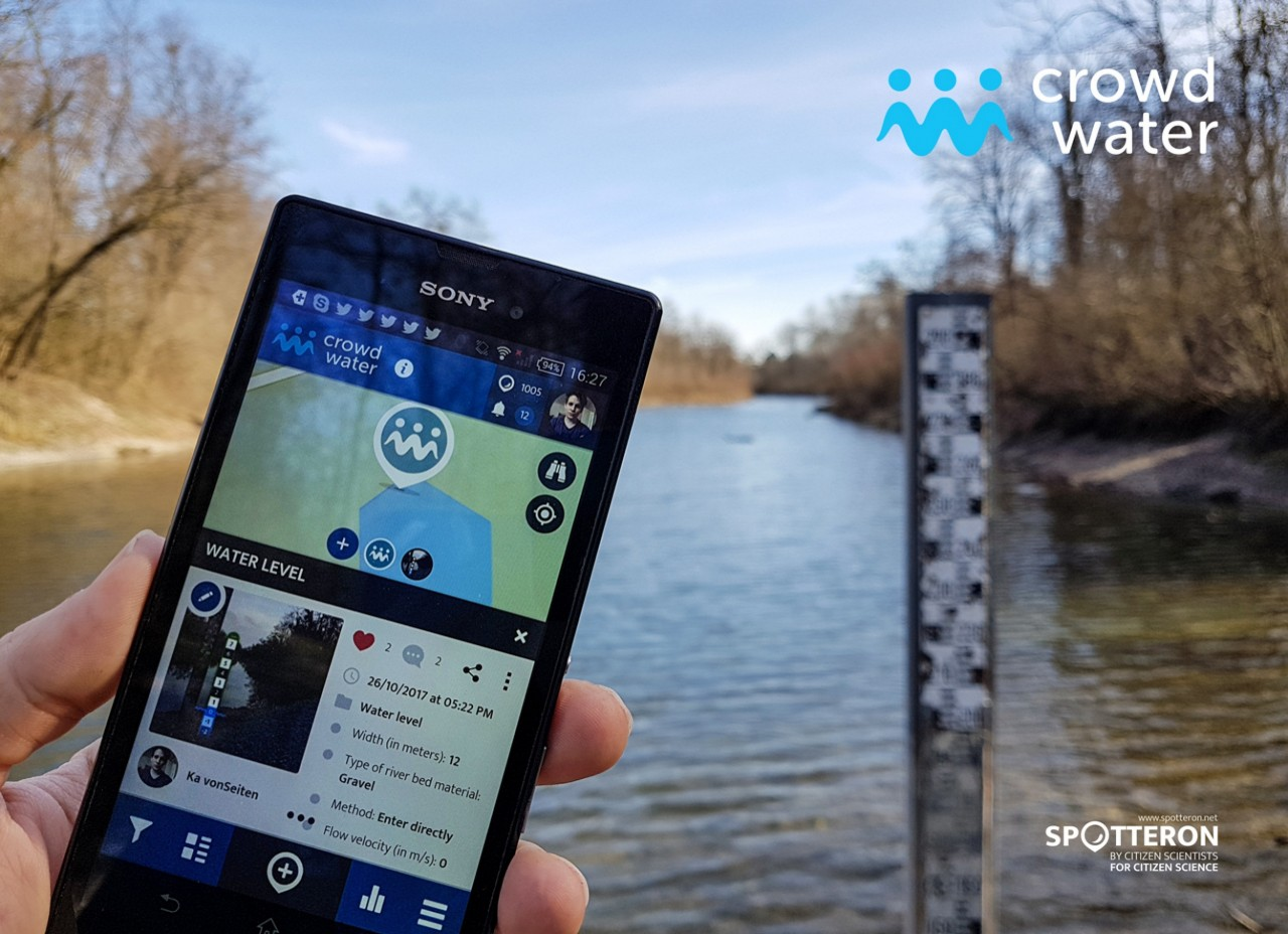 Meet CrowdWater! - SPOTTERON Citizen Science Adventure