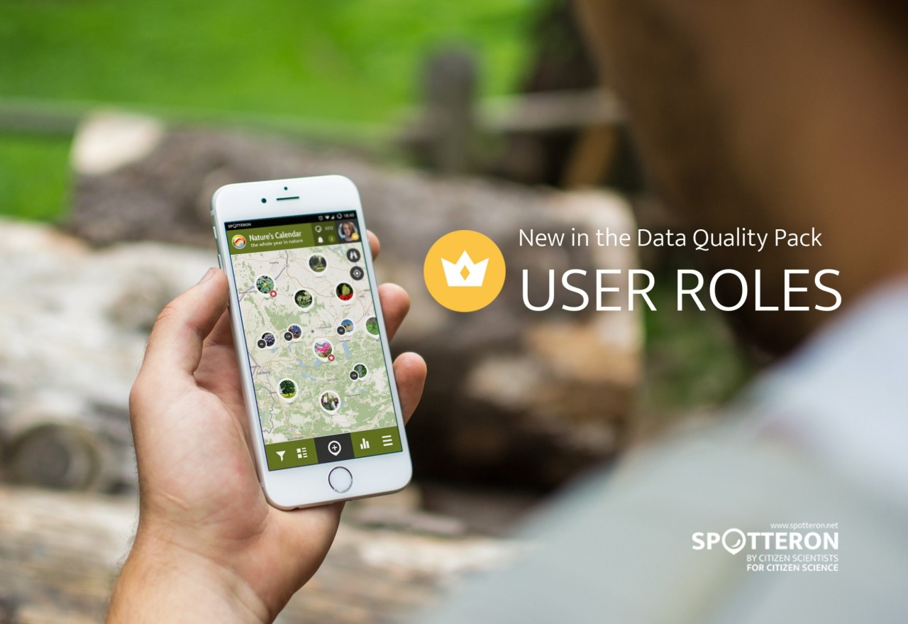 """New feature: """"User Roles"""" for Citizen Science apps (Data Quality Pack)"""